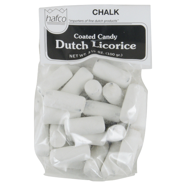 Chalk (krijt) Licorice (mint)